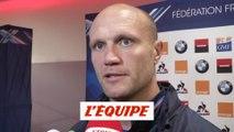 Bonnaire «Déçu pour les mecs avant tout» - Rugby - XV de France