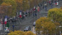 VIDEOS. 11-Novembre: le convoi de Donald Trump perturbé par une militante Femen sur les Champs-Elysées