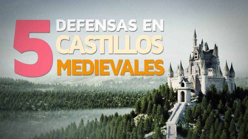 5 Métodos de defensa de los castillos medievales    Brutales