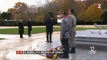 """EN DIRECT - 11 novembre : Emmanuel Macron : """"Faisons le serment de placer la paix le plus haut que tout"""" - Des Femen tentent d'intercepter la voiture de Donald Trump sur les Champs Elysées"""