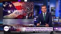 Több ezer migráns indult tovább az Egyesült Államok határa felé