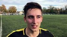 GAMBARDELLA U19 – Kevin PENNEC (Lyon-Duchère AS) réagit après la qualification de son équipe au FC Villefranche