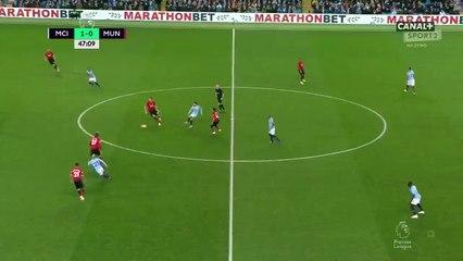 Riyad Mahrez passeur décisif face à Manchester United