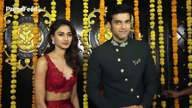 Kasauti Zindagi Ki Season 2 Erica Fernandes And Parth Samthaan At Ekta Kapoor Diwali Party 2018