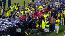 La última vez que se enfrentaron Boca Juniors y River Plate por la Copa Libertadores