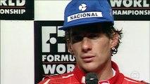 Vozes: Galvão Bueno relembra os momentos marcantes da carreira de Ayrton Senna