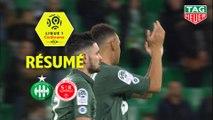 AS Saint-Etienne - Stade de Reims (2-0)  - Résumé - (ASSE-REIMS) / 2018-19