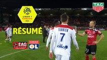 EA Guingamp - Olympique Lyonnais (2-4)  - Résumé - (EAG-OL) / 2018-19