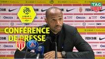 Conférence de presse AS Monaco - Paris Saint-Germain (0-4) : Thierry HENRY (ASM) - Thomas TUCHEL (PARIS) / 2018-19