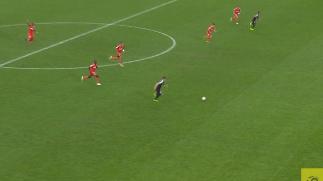 Caen's Brice Samba saves the day with perfect save in the last minute