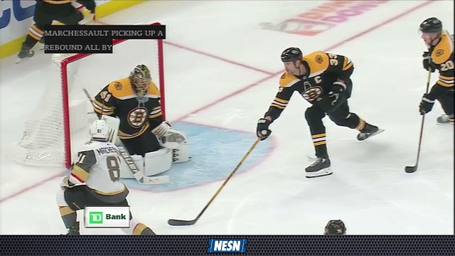 Jaroslav Halak Stonewalls Golden Knights In Bruins' 4-1 Win