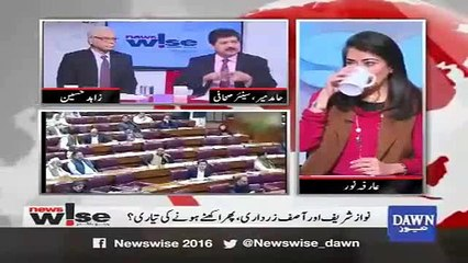There is a lot of mistrust between Nawaz Sharif and Asif Zardari and this will be beneficial for PTI- Hamid Mir