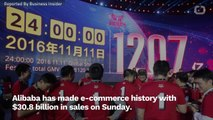 Alibaba Records The Biggest Online Shopping Day Of All Time