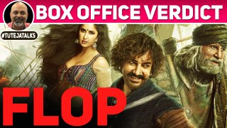 FLOP | Thugs of Hindostan | Box Office Verdict | Aamir Khan | Amitabh Bachchan | #TutejaTalks
