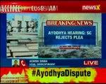 Ayodhya hearing: Supreme Court rejects plea for urgent hearing of Ram Mandir