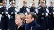Macron y Merkel, juntos contra los nacionalismos