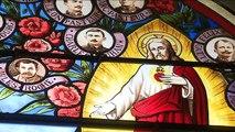 Les Poilus de Ney sur les vitraux de l'église du village