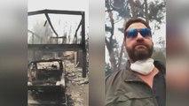 La maison de Gerard Butler détruite par l'incendie de Malibu