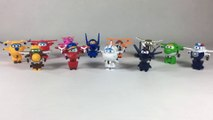 12 Super Wings Mini Transforming Robots Jett Jerome Donnie Dizzy Paul Mira || Keith's Toy Box