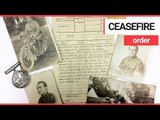 Typed letter announcing the First World War ceasefire has been discovered   SWNS TV