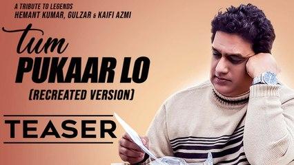 Tum Pukaar Lo | Promo | Dabboo Malik | Tribute to Hemant Kumar, Gulzar & Kaifi Azmi | Music & Sound