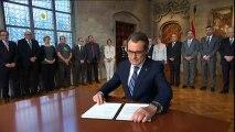 El Tribunal de Cuentas condena a Artur Mas y a tres exconsellers a pagar 4,9 millones de euros por la consulta del 9-N