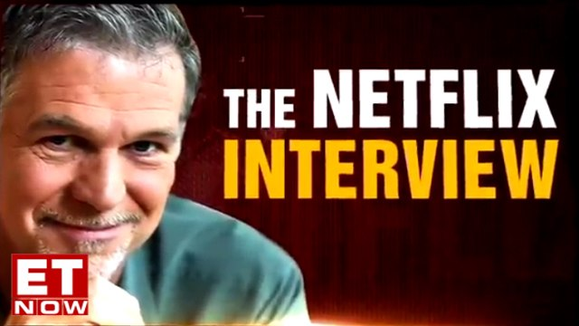 Netflix CEO Reed Hastings And Product VP Todd Yellin | ET Now Exclusive
