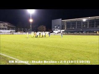 UR Namur - Stade Braine : 2-0 (10/11/2018)