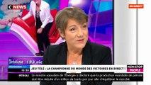 """Jeu télé / Nagui: Regardez la championne du monde qui était ce matin dans """"Morandini Live""""!"""