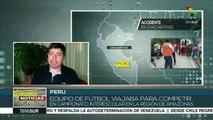 Perú: mueren 6 niños futbolistas y entrenador tras caer su autobús