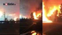 California, gli incendi devastano il territorio: panico tra gli abitanti | Notizie.it