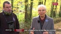 A la découverte du Parc naturel régional de l'Aube avec la sénatrice centriste Evelyne Perrot