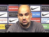Manchester City 3-1 Manchester United - Pep Guardiola Full Post Match Press Conference - Derby