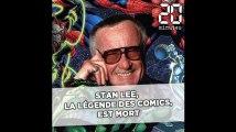 Stan Lee, la légende de la bande dessinée américaine, est mort