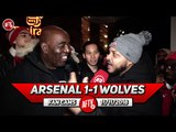 Arsenal 1-1 Wolves | Troopz Tears Into TalkSport Over Aubameyang Diss!!