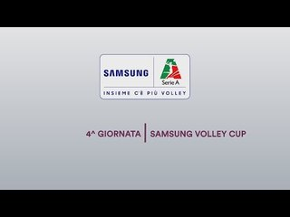 Review 4^ giornata   Samsung Volley Cup 2018/19