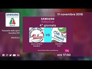 Scandicci - Club Italia   Speciale   4^ Giornata   Samsung Volley Cup 2018/19