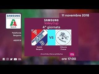 Bergamo - Firenze   Speciale   4^ Giornata   Samsung Volley Cup 2018/19