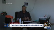 Valley car salesman sentenced to prison in missing car title cases
