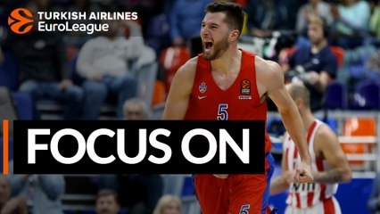 Focus on: Alec Peters, CSKA Moscow