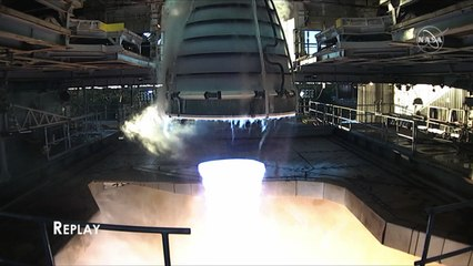 RS-25 Engine Test (650 Second Duration)