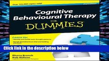D.O.W.N.L.O.A.D [P.D.F] Cognitive Behavioural Therapy For Dummies [P.D.F]