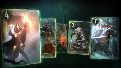 Gwent The Witcher Card Game - Gameplay video