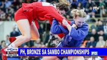 PH, bronze sa Sambo Championships