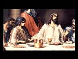 LAST SUPPER - Daily life in the Time of Jesus - olive wood Lord's Supper