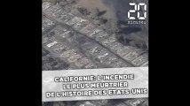 Californie: L'incendie le plus meurtrier de l'histoire des Etats-Unis continue de faire rage