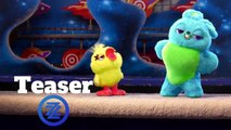 """Toy Story 4 Teaser Trailer - """"Ducky and Bunny"""" (2019) Animated Movie HD"""