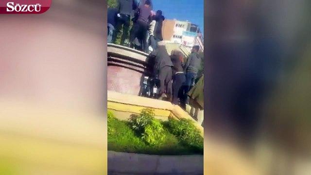 Adıyaman'da Atatürk anıtına büyük saygısızlık