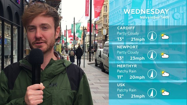 WEATHER: November 14th 2018