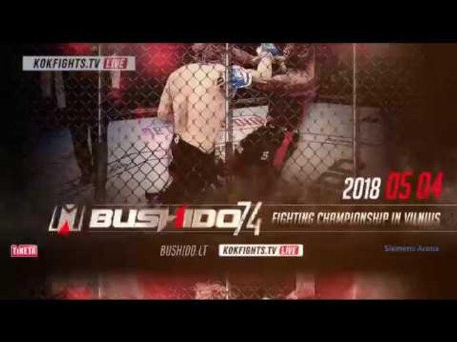 MMA'74 BUSHIDO FIGHTING CHAMPIONSHIP ❗️